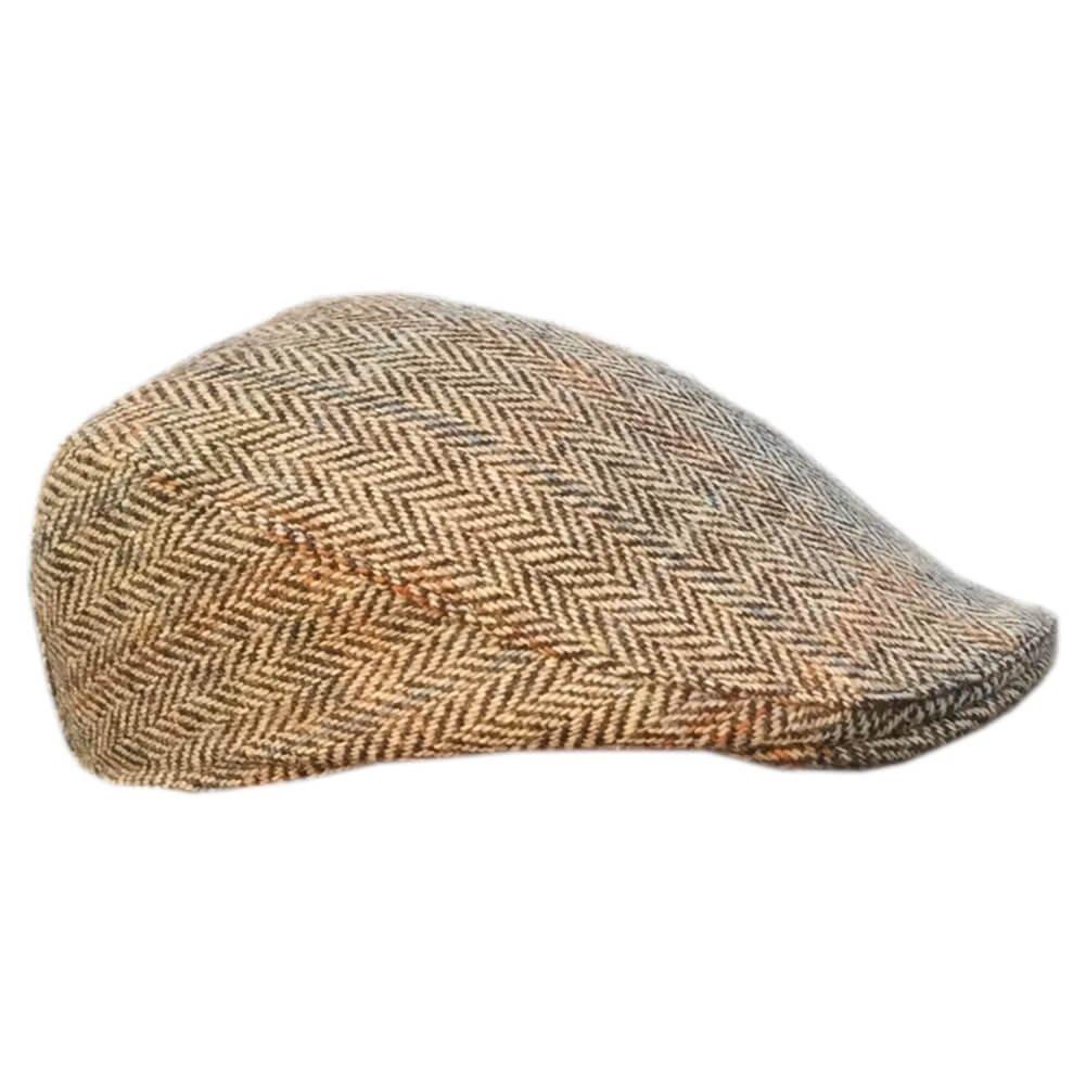 fa8c26b3 Irish Scally Cap - Donegal Tweed, Brown at Amazon Men's Clothing store: