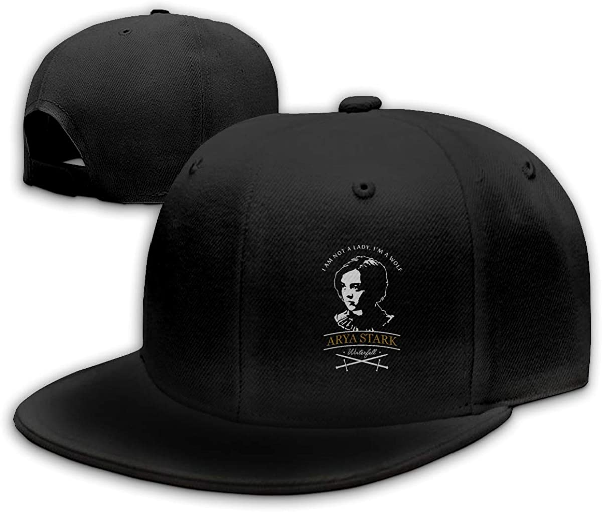 I Am Not A Lady,Im A Wolf Sports Cap for Mens and Womens