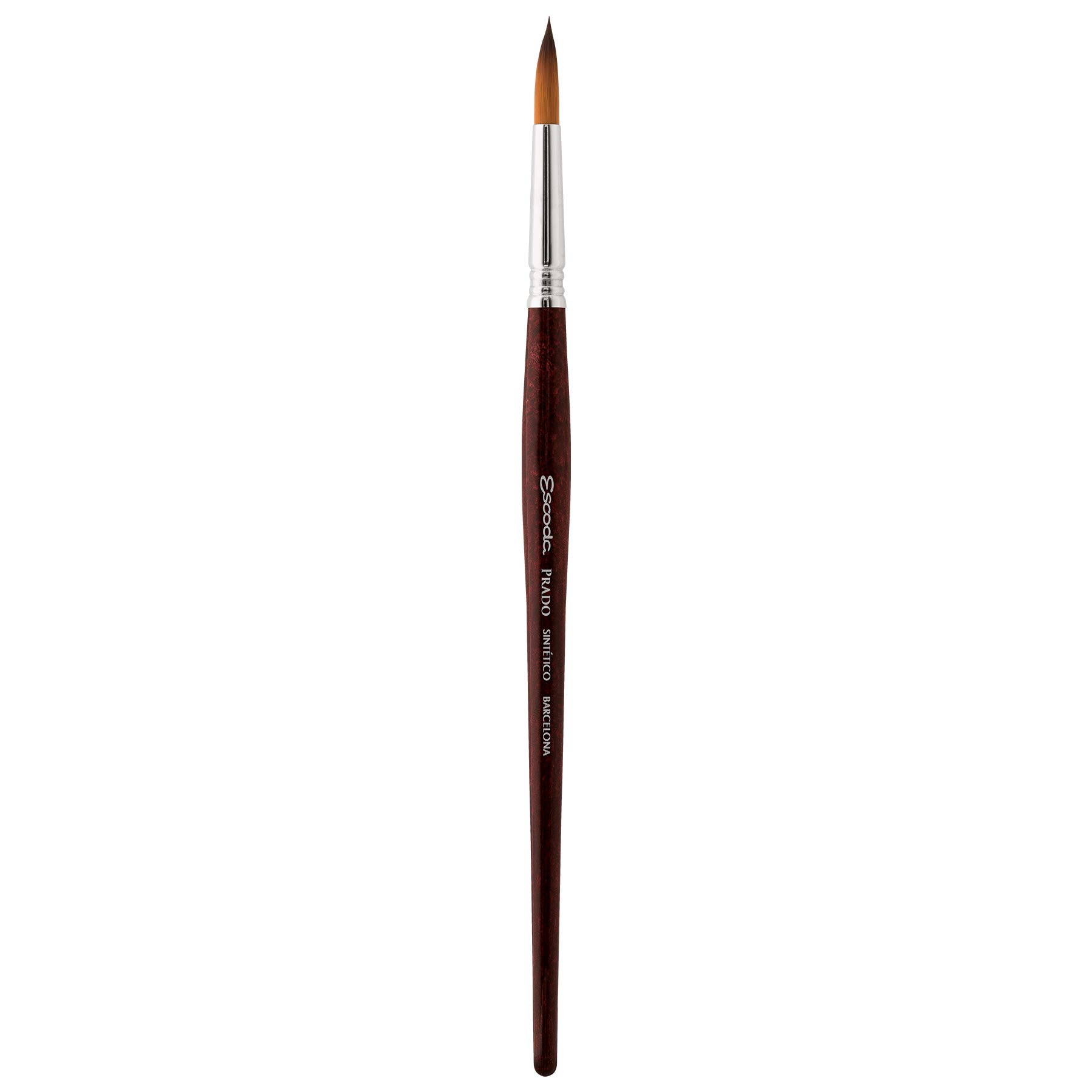 Speedball Art Products 1462-8 Escoda Prado Series Artist Watercolor & Acrylic Short Handle Round Paint Brush, Size 8, Synthetic Sable by Speedball