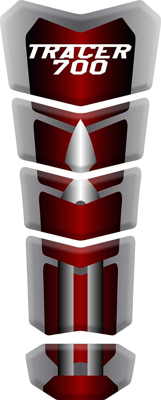 Red Prot/ège R/éservoir Moto Tank Pad Sticker Autocollant YAMAHA Tracer 700