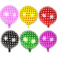 Zebratown 18inch Polka Dot Balloon Party Supplies Birthday Decorations Candy Ballon Foil Balloons 10pcs/lot Mylar Balloon