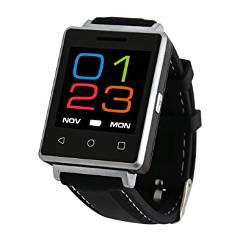 Smartwatch, Videollamada para Android Sony LG Huawei ZTE Oppo Xiaomi, control de adultos para natación con juegos Quad Fitness Tracker: Amazon.es: ...