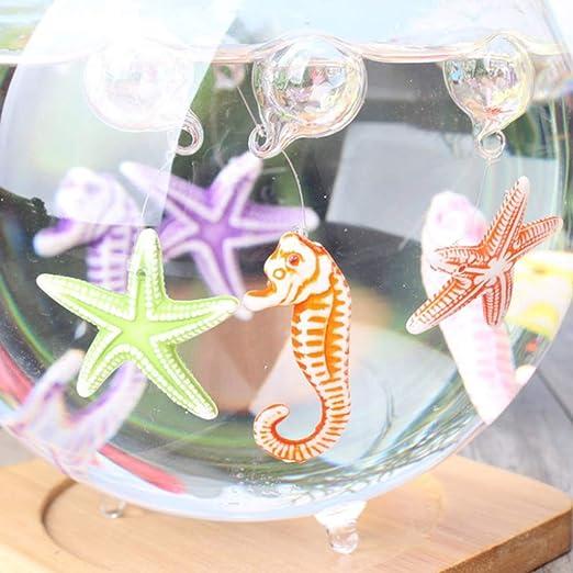 Toyvian 50pcs Resina Decoraciones de Acuario Micro Paisaje Ornamento para pecera Hada Planta de jardín Maceta (Color Aleatorio): Amazon.es: Juguetes y ...