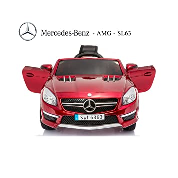 Mercedes Sl63 Amg 12v Ride On Kids Battery Operated Electric Toy Car