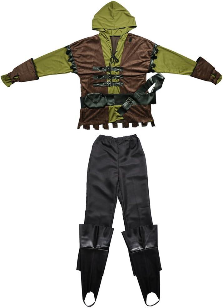 Gazechimp Set de Traje de Disfraces de Hombres de Pluma Artificial ...
