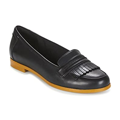 af310074577 Clarks 2715-44D Andora Crush Black Womens Loafers  Amazon.co.uk ...