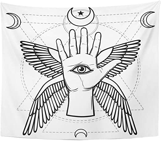 Soefipok Tapestry Mandala Home Decor étnico Tribal Caballo ...