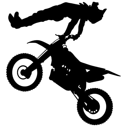 Amazoncom Motocross Wall Decal Sticker 10 Decal Stickers and