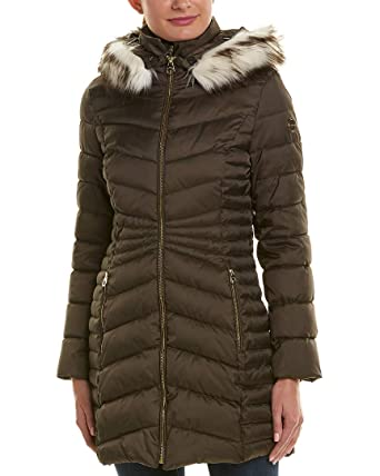 5ea72a6841c8 Amazon.com  Laundry by Shelli Segal Womens Quilted Coat