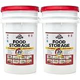 Augason Farms 30-Day Emergency Food Storage Supply Pail (2 pail)
