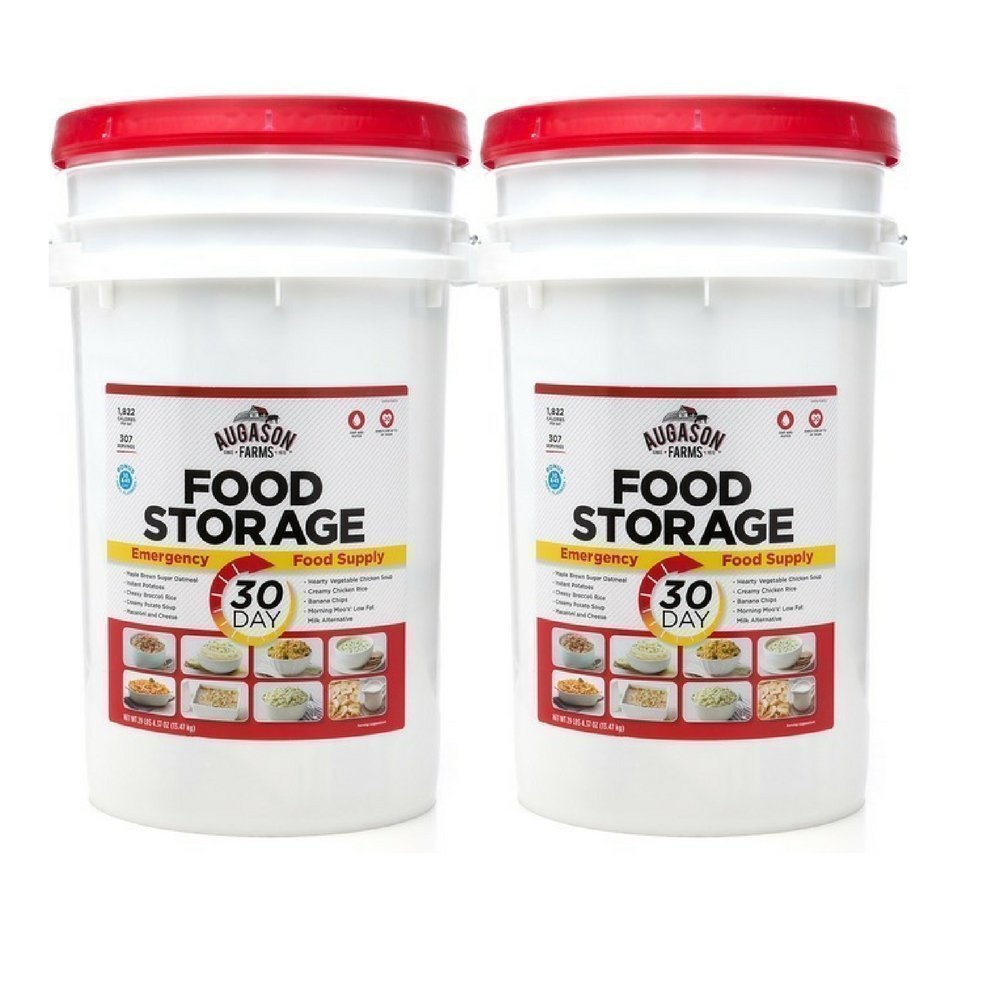 Augason Farms 30-Day Emergency Food Storage Supply Pail (2 pail) by Augason Farms (Image #1)