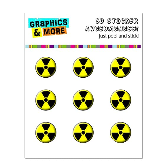 Amazon Graphics And More Radioactive Symbol Home Button