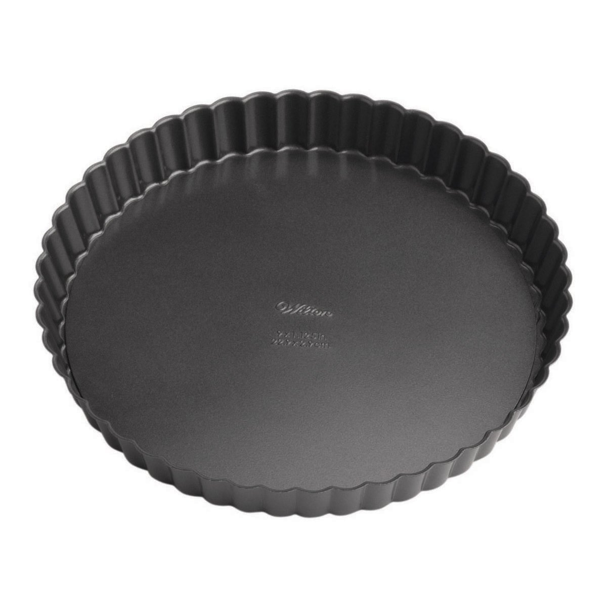 Wilton Perfect Results Premium Non-Stick Bakeware Round Tart and Quiche Pans, Sunday Brunch May Never be the Same Again, Fluted Edges Add a Touch of Flair, 9-Inch