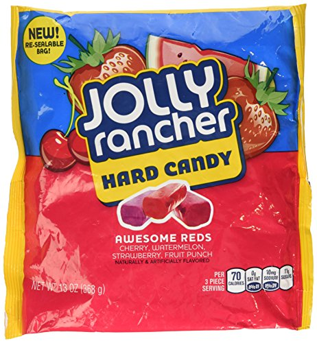 Jolly Rancher Awesome Reds Hard Candy, 13-Ounce 2 Pack]()