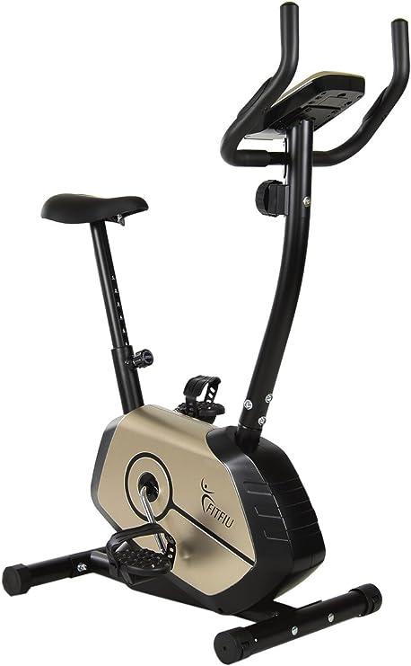 Fitfiu - BestE2 Bicicleta estática Regulable para Fitness ...