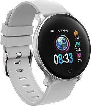 Smart Uhr LEMFO KW10 Smart Watch Frauen 2019 IP68 Wasserdichte Herzfrequenzüberwachung Bluetooth Für Android IOS Fitness Armband Smartwatch Die Besten