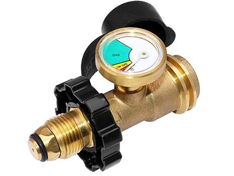 Medidor de nivel del tanque de propano actualizado, detector de fugas de gas, medidor de presión, ...
