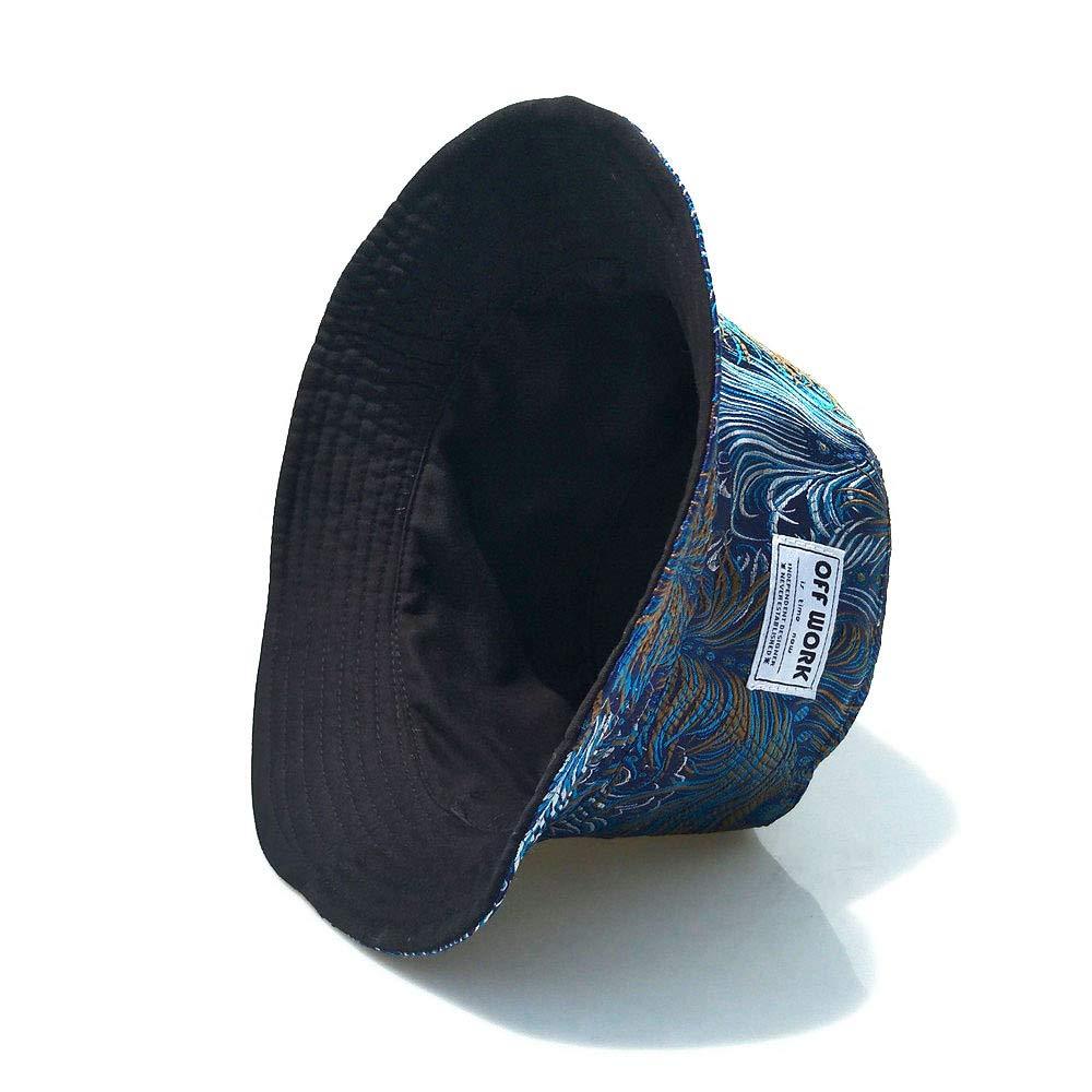 Outdoor-Sportarten Sonnencreme Sonnenhut Baumwolle Stickerei Fisherman Caps,Reversible ANFAY Unisex Eimerhut Reversibel Doppelseitig Breiter Rand UPF50