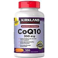 Kirkland Signature Expect More CoQ10 300 mg, 100 Softgels