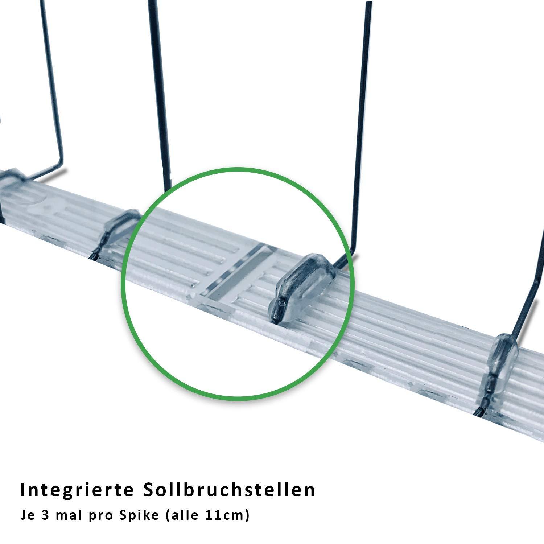 sourcing map 2stk.Schiebeanschluss PL8-01 Zubeh/ör 8mm Rohr AD x 1//8 G-Gewinde Blau