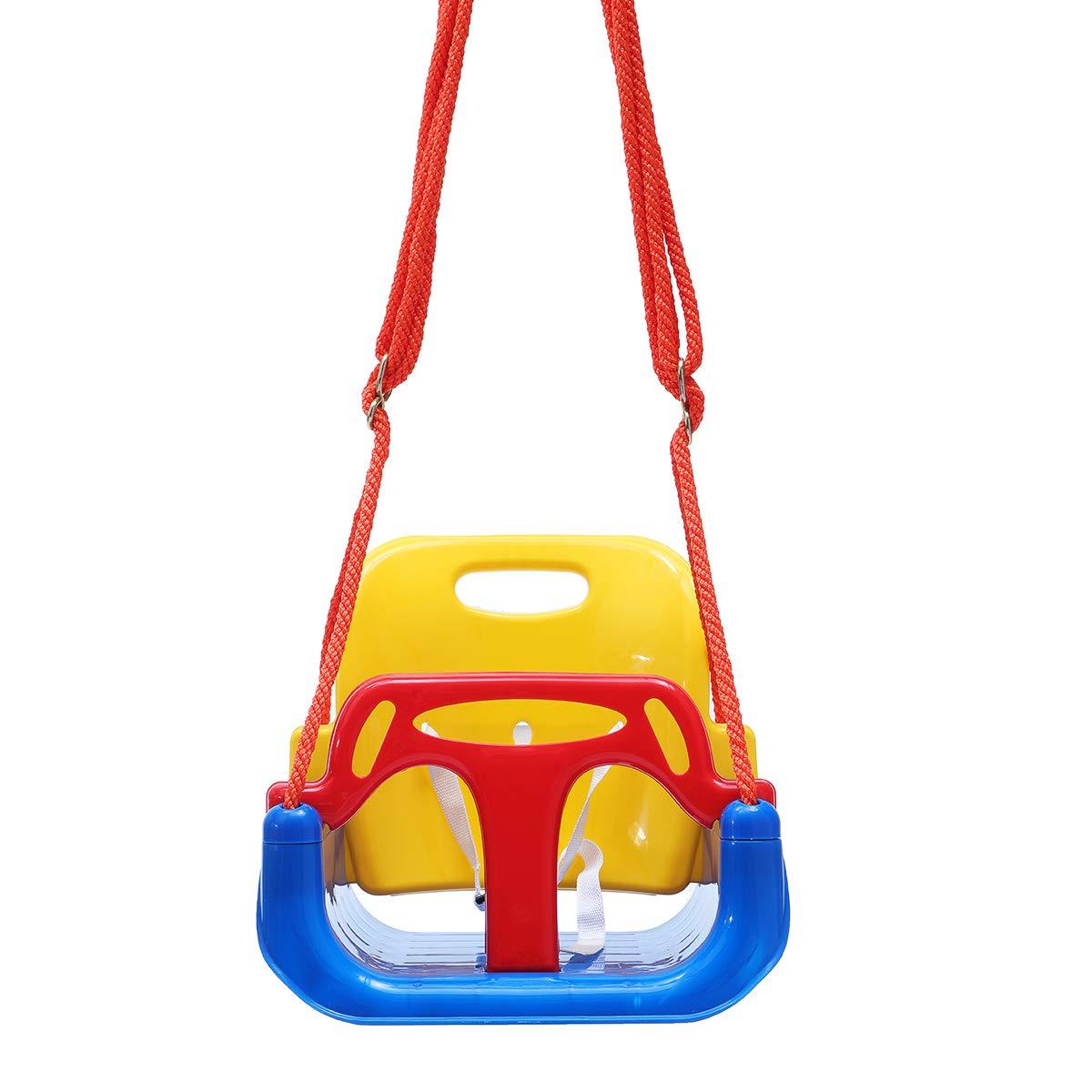 Beho 3の1人の子供の振動座席調節可能なハンモックの椅子のキャンプの赤ん坊のロッキングチェアの屋外のキャンプ B07HH8LT79