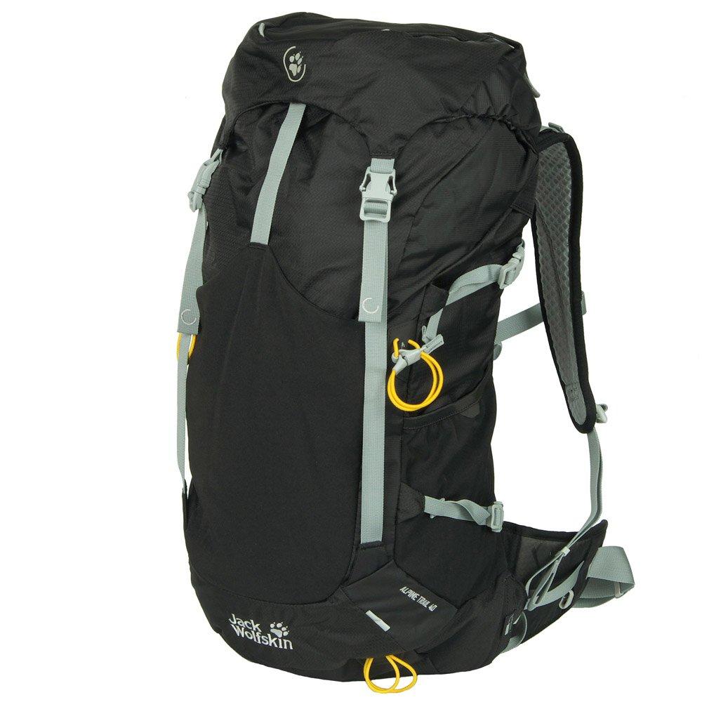 (ジャックウルフスキン) Jack Wolfskin ザックパック 登山用 2002051  2.ブラック B018KA3K0S