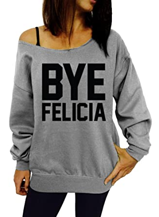 79cb8ec57 Dentz Design Bye Felicia Slouchy Sweatshirt - Small Gray Black Ink