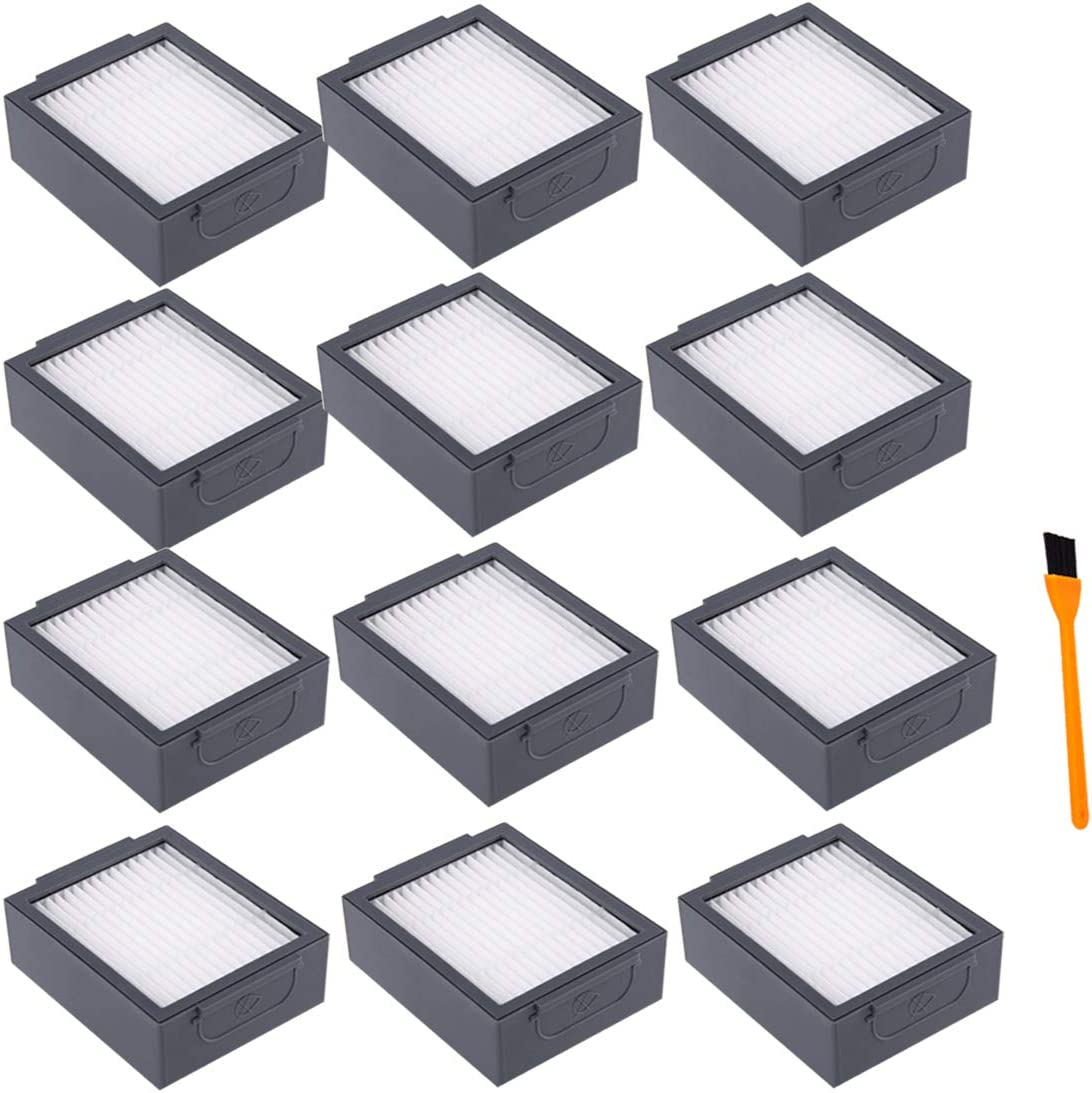 Amazon Com Hongfa 12 Packs Replacement Roomba I7 I7 Filters Replacement Parts For I Robot Roomba I7 7150 I7 I7 Plus E5 E6 E7 Vacuum Roomba I E Series Replenishment Filter Home Kitchen