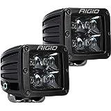 Rigid Industries 202213BLK D-Series Midnight Optic Spot Light