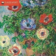 Claude Monet - mini wall calendar 2018 (Art Calendar)