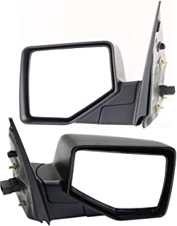 Manual Folding Power Textured Black Non-Heated LANCER 08-14 MIRROR LH