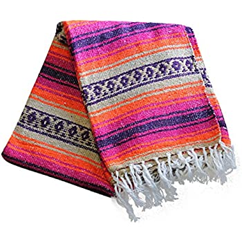 Del Mex Classic Mexican Falsa Blanket Vintage Style (Monterey)