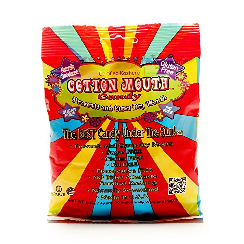 Cotton Mouth Candy Fruit Mix, (Dry Candy)