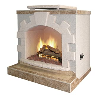 Cal Flame Two Tone Outdoor Fireplace Amazon Co Uk Watches