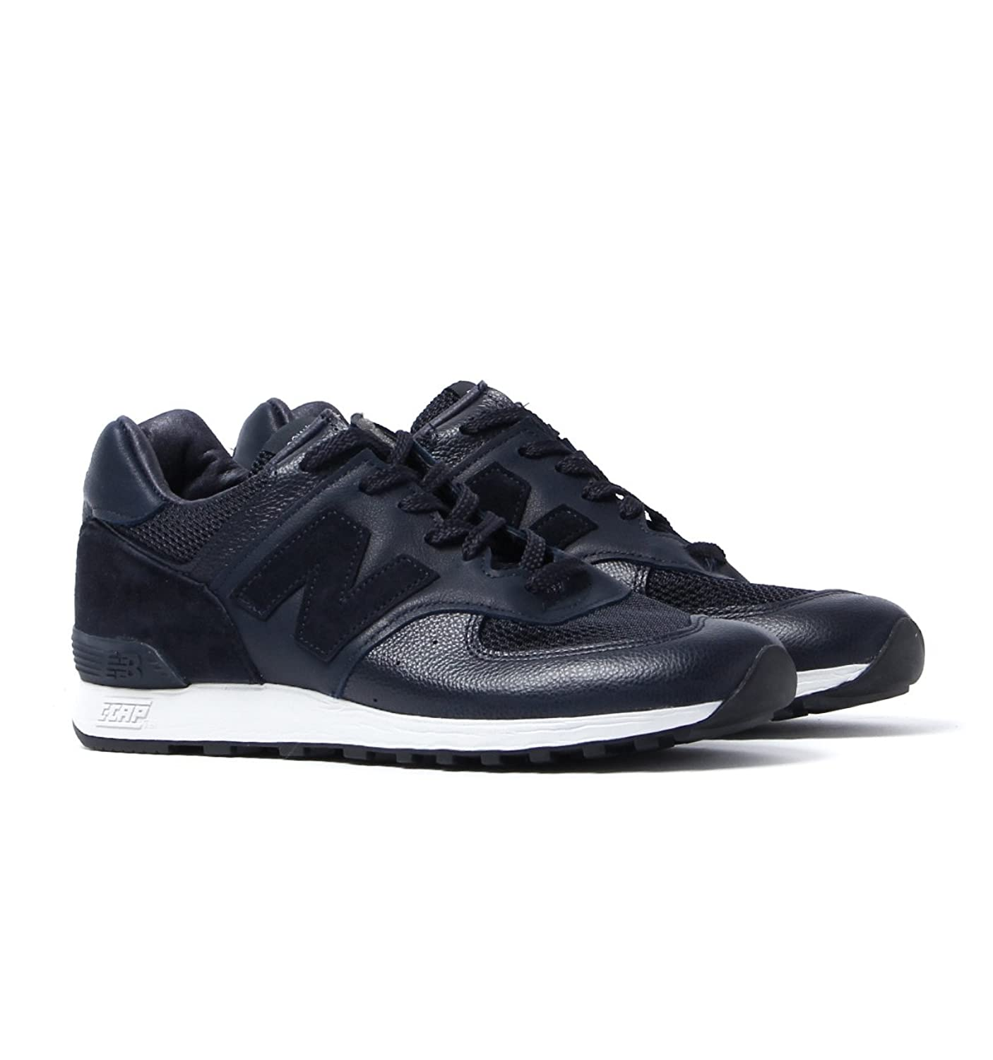 New Balance Made In England Deep Navy Leather Trainers