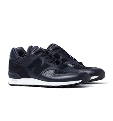 size 40 a04aa 8438f New Balance 576 Made In England Deep Navy Leather Trainers  Amazon.fr   Chaussures et Sacs