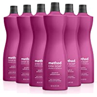 Method Dish Soap, Grapefruit, 18 Ounce, 6 pack, Packaging May Vary
