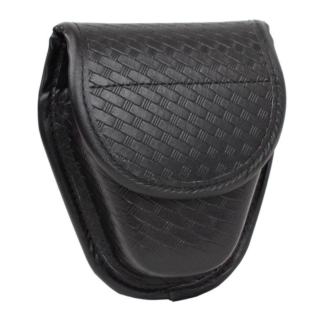 TTGTACTICAL Molded Double Basketweave Handcuff Pouch Hidden Snap Cuff Case
