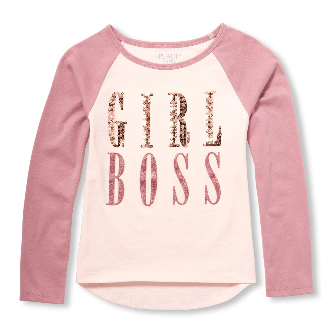 The Children's Place Big Girls Long Sleeve Graphic Tops The Children' s Place