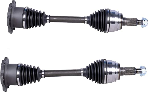4PC 2 Naturally Aspirated 2 Front CV Axle Shafts /& Bodeman Front Wheel Hub Bearing Assemblies for 2000-2005 Buick LeSabre// 2006-2008 Lucerne V6// 1997-2005 Park Avenue