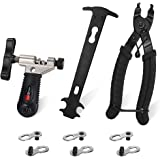 WOTOW Bicycle Chain Repair Tool Kit, Cycling Bike Master Link Pliers Remover & Chain Breaker Splitter Cutter & Chain…