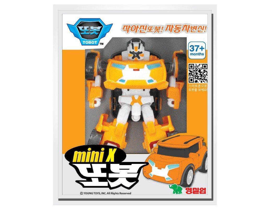 Amazon Tobot Mini C D W X Y Z 6 Type Set Transformer Korean Animation Robot Character Toys & Games