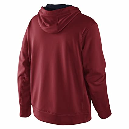 383abbd7 Nike MEN'S THERMA-FIT Pullover KO HOODIE Training SWEATSHIRT (RED, ...