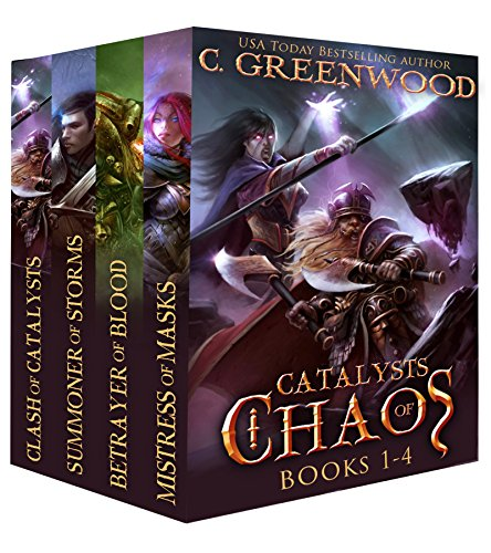 Catalysts of Chaos: Books 1-4 cover