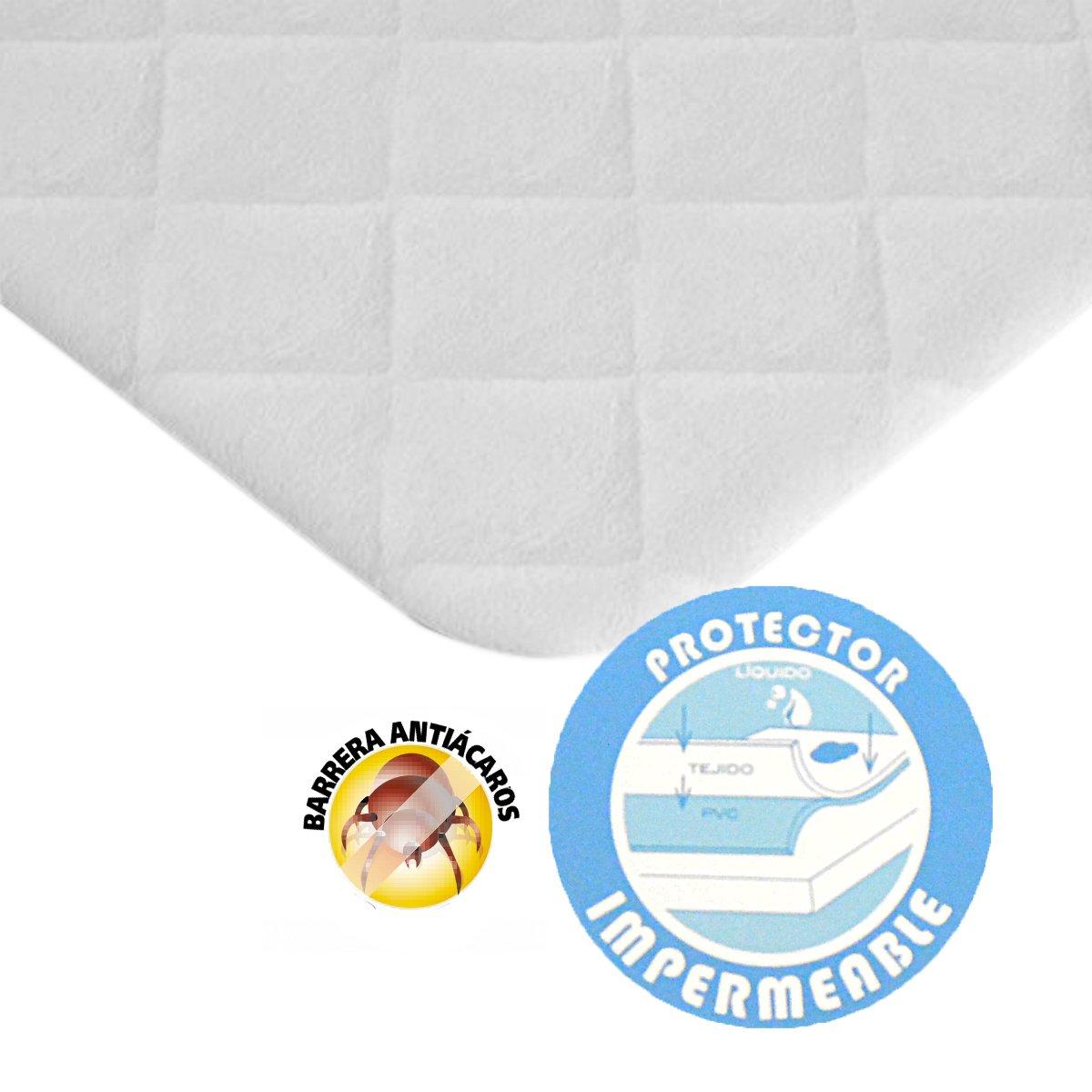 40 X 80 cm Pekitas Matratzen-Schutzbezug f/ür Kinderbett wasserdicht