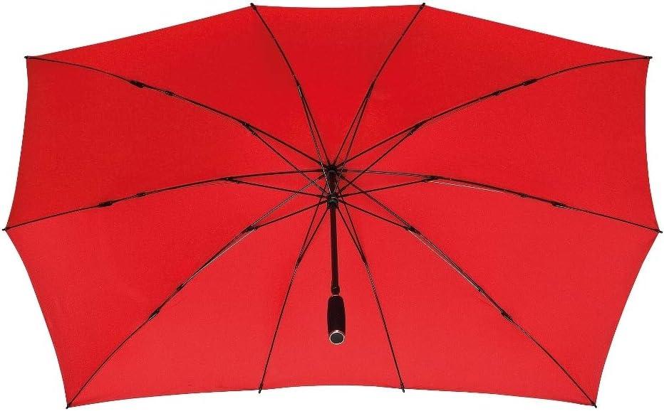 VON LILIENFELD/® Parapluie XXL Stable 2 Personnes Femme Homme Maxi Gris
