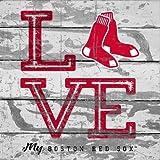 Boston Red Sox Love My Team - Square