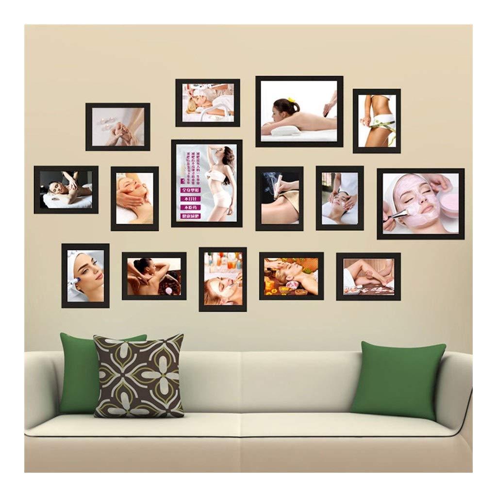 Amazon Com Gwzjmqhyxk 15 Frame Combination Photo Wall Nail