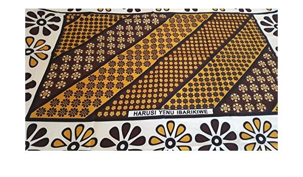 Butterfly Kanga varios colores para envolver a tu beb/é tela africana que se puede usar como pareo