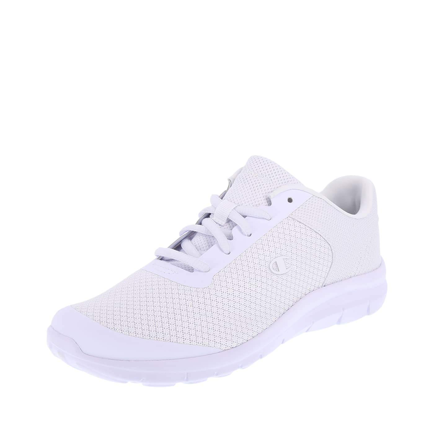 b4052439bba Galleon - Champion Women s White Mesh Performance Gusto Cross Trainer 8  Regular